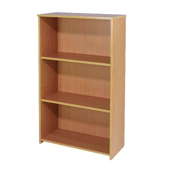 Jemini Bav/Beech 1200mm Medium Bookcase