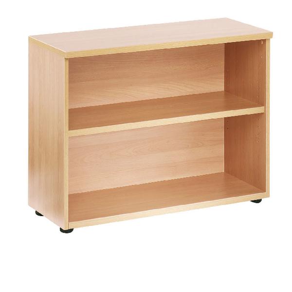 Jemini Oak 730mm Bookcase 1 Shelf