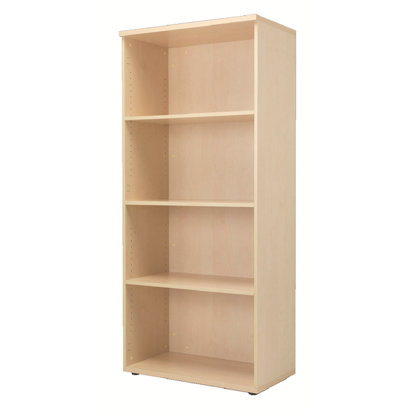 Jemini Maple 1800mm Bookcase 4 Shelf