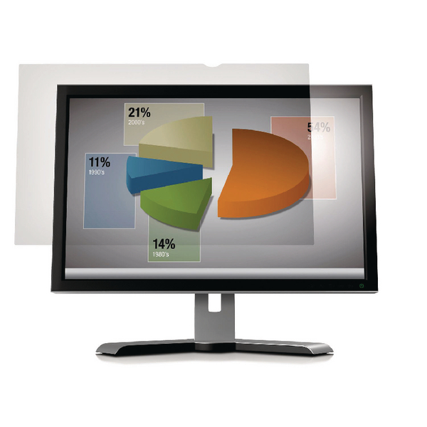 3M Frameless Anti-Glare Filter for Desktops 21.5in Widescreen 16:9 AG21.5W9 (Pack of 1)