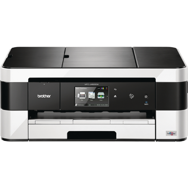 Brother MFC-J4620DW A3 Inkjet All-in-One Printer with Fax Duplex NFC Wireless White (Pack of 1) MFCJ4620DWZU1