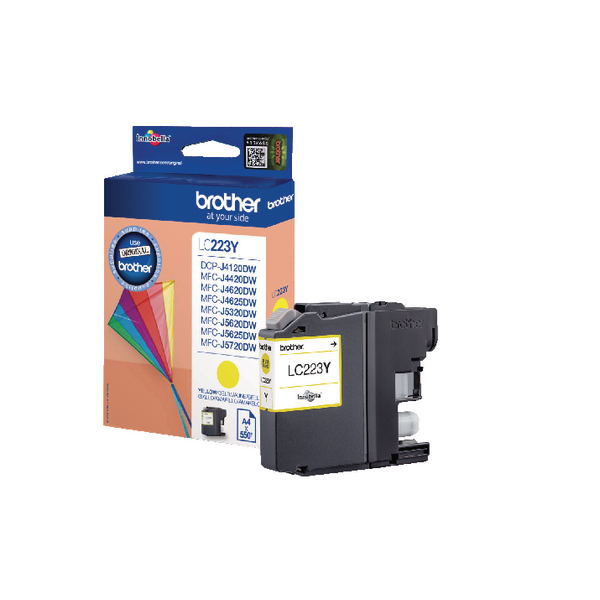 Brother Yellow Inkjet Cartridge LC223Y