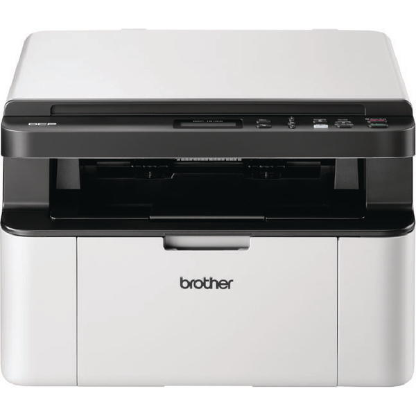 Brother DCP-1610W Mono Laser All-in-One Printer Wireless White (Pack of 1) DCP1610WZU1