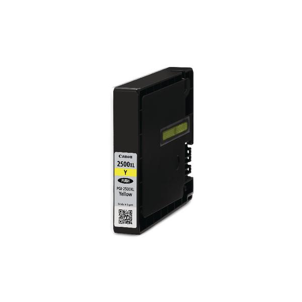 Canon PGI-2500XL Yellow High Yield Inkjet Cartridge 9267B001AA