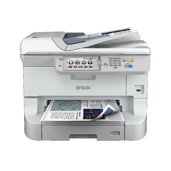 Epson Black WorkForce Pro WF-8510DWF A3+ Multifunctional Inkjet Printer C11CD44301BY (Pack of 1)