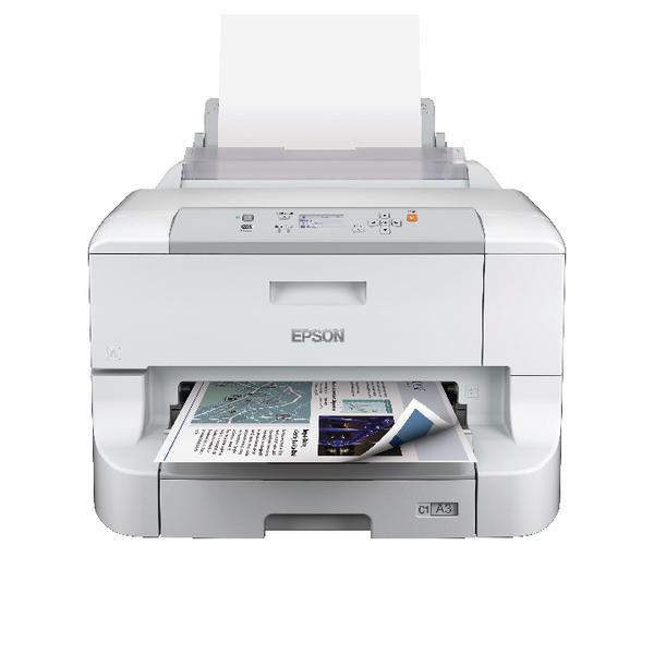 Epson Black WorkForce Pro WF-8010DW A3+ Inkjet Printer C11CD42301BY (Pack of 1)