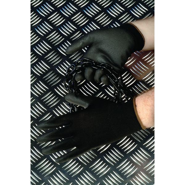 Shield Polyurethane Coated Nylon Gloves GI/NPUB