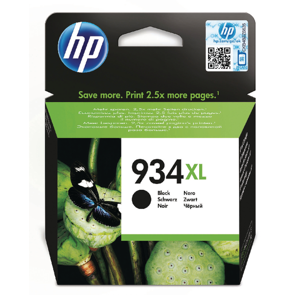 HP 934XL Black High Yield Original Ink Cartridge C2P23AE