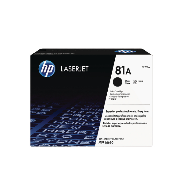 HP 81A Black Original LaserJet (Pack of 1)CF281A