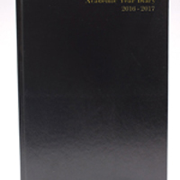 *Academic A4 Day To A Page Diary Black 2016-2017