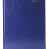 *Academic A5 Week To View Diary Blue 2016-2017