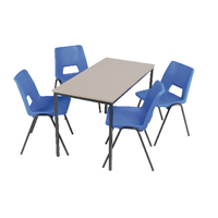 Jemini Class Pack 30 Chairs and 15 Tables 11-14 Years (Pack of 1)