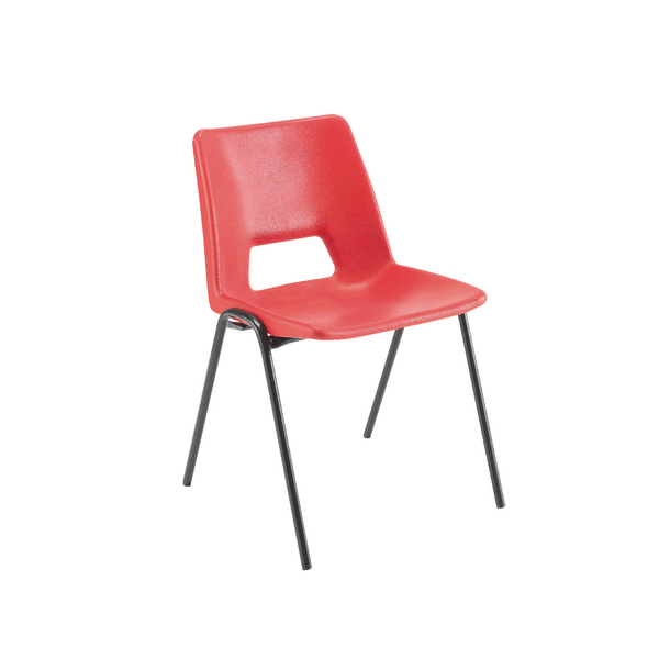 Jemini Classroom Chair Red 430mm (Pack of 1)