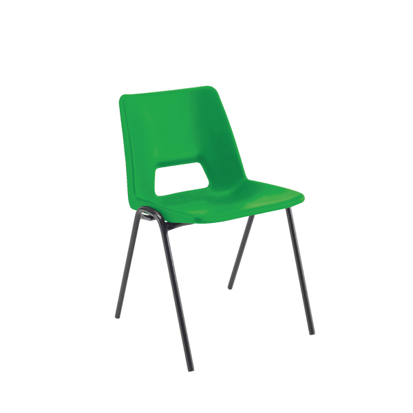 Jemini Classroom Chair Green 350mm (Pack of 1)