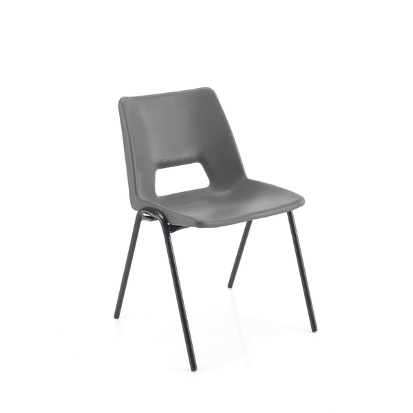 Jemini Classroom Chair Charcoal 350mm (Pack of 1)