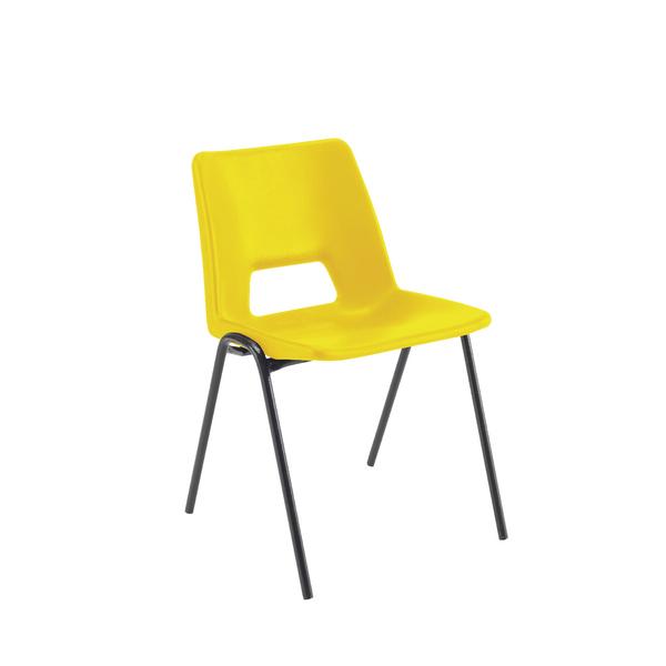 Jemini Classroom Chair Yellow 430mm (Pack of 1)