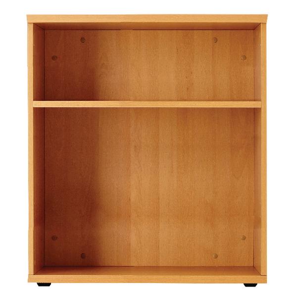 Jemini Oak 1000mm Bookcase 1 Shelf