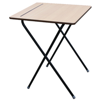 Jemini Folding Exam Desk Pack of 40 with Folding Exam Desk Trolley (Pack of 1)