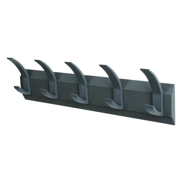 image for ff acorn coat rack wall 5 hook 319875 alb00715 alba chromy coat