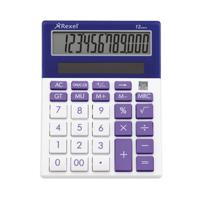 Rexel Joy Desktop Calculator Perfect Purple
