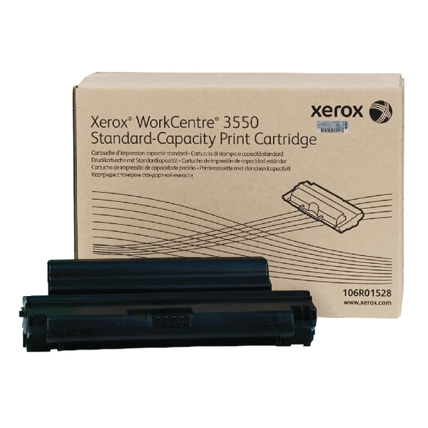Xerox Black Toner Cartridge 106R01528