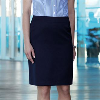 Womens Sigma straight skirt Charcoal 20R