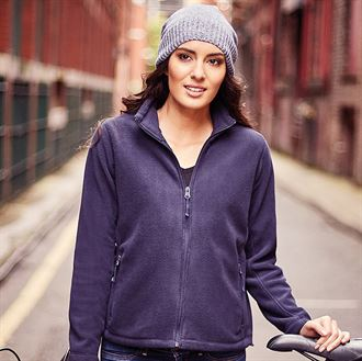 Womens full-zip outdoor fleece