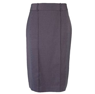 Womens Icona straight skirt (NF14) Charcoal 20R