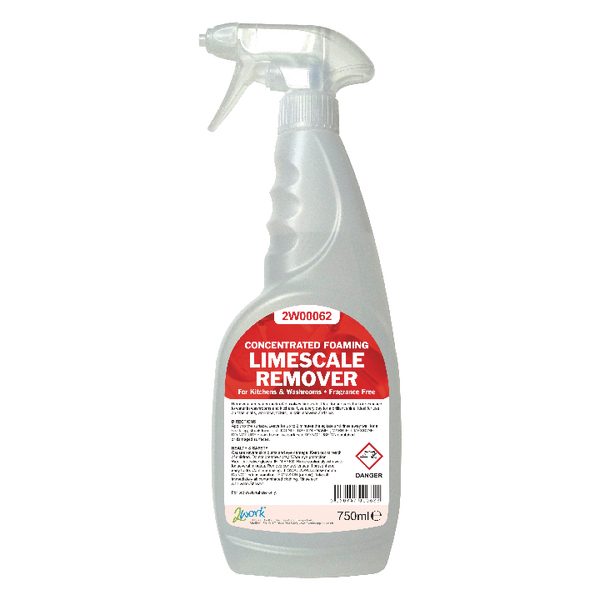 2Work Concentrated Foaming Limescale Remover 750ml 524