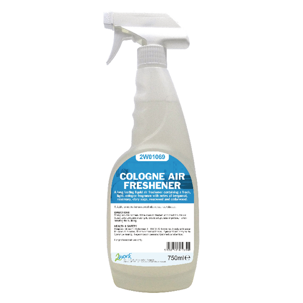 2Work Air Freshener Trigger Spray Cologne 750ml