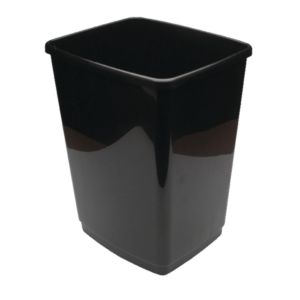 Image for 2Work 50L Swing Bin Base Only Black 50Lbase