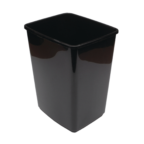 2WORK 10L SWING BIN BASE ONLY BLACK