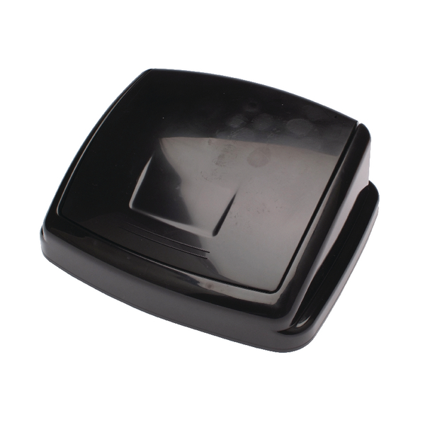 Image for 2Work 30L Swing Bin Top Only Black 30llid