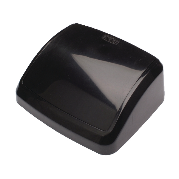Image for 2Work 10L Swing Bin Top Only Black 10llid