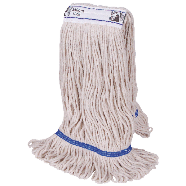 2Work 340g PY Kentucky Mop Blue (Pack of 5) 103221BL