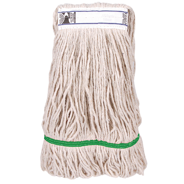 2Work 340g PY Kentucky Mop Green (Pack of 5) 103221GN