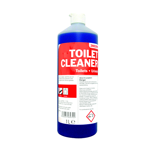 2Work Daily Use Toilet Cleaner 1 Litre 2W03979