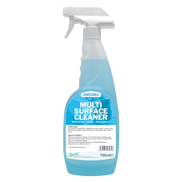 2WORK MULTI SURFACE TRIGGER SPRAY 750ML