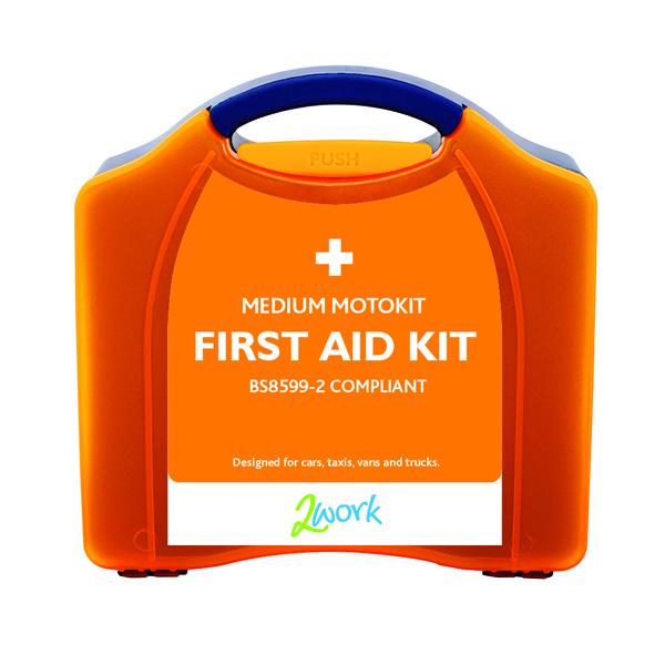2Work Medium Motokit First Aid Box B28599-2 X6070