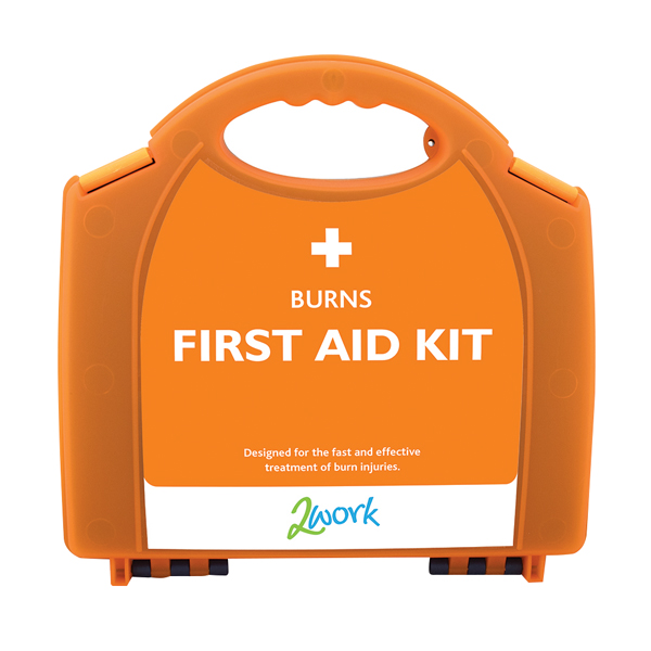 2Work Burns First Aid Kit X6090