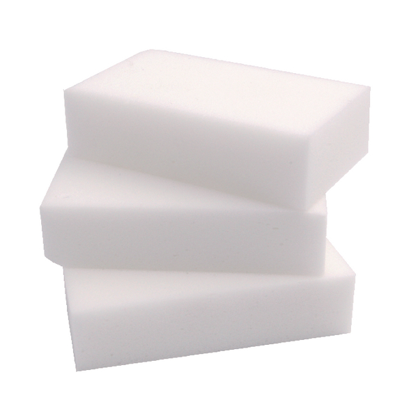 2Work Erase All Sponge 100x60x25mm (Pack of 10) SPEAWH10O
