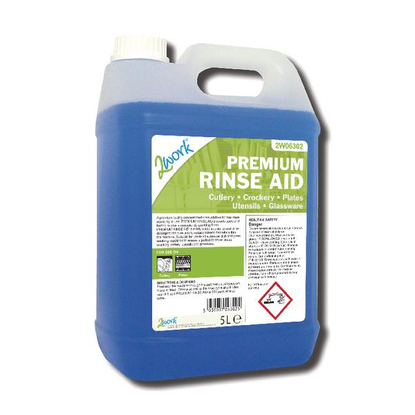 2Work Premium Rinse Aid 5 Litre
