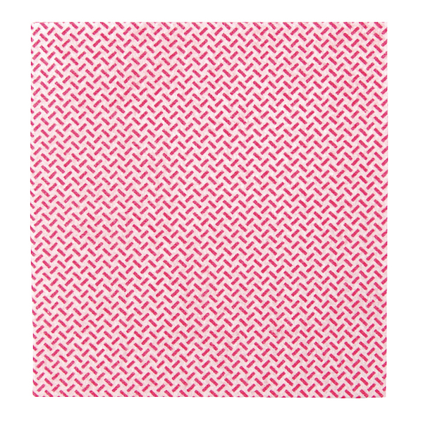 2Work Med Weight Cloth 38x40cm Red (Pack of 5) 103179