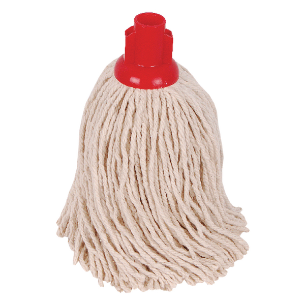 2Work 14oz PY Smooth Socket Mop Red (Pack of 10) PJYR1410I