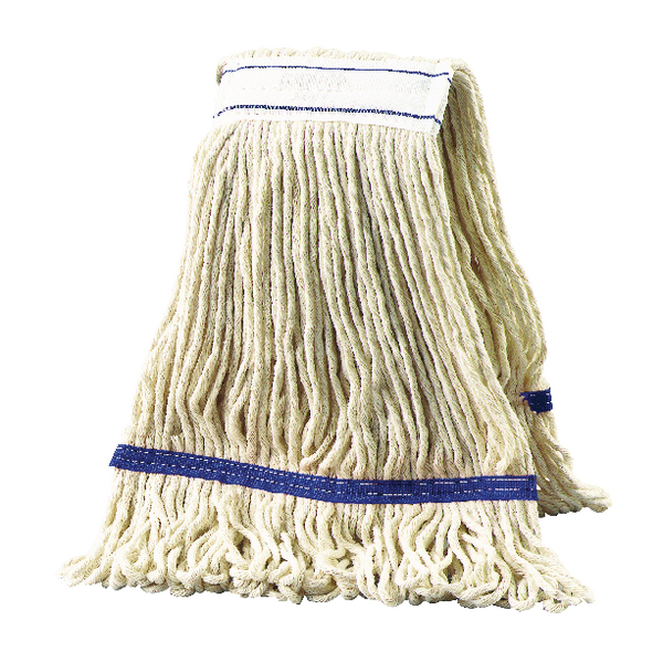 2Work 340g Multi Kentucky Mop Blue (Pack of 5) KDBU3405I