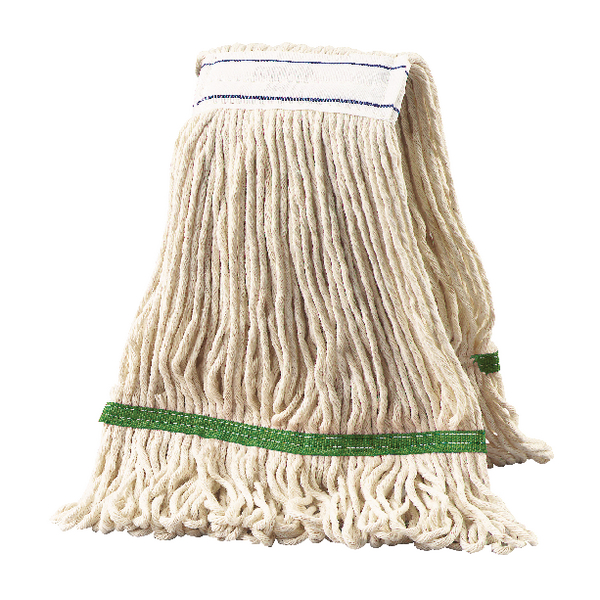 2Work Multi Kentucky Mop 340g Green (Pack of 5) 103222G