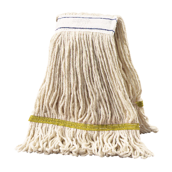 2Work 340g Multi Kentucky Mop Yellow (Pack of 5) KDYE3405I