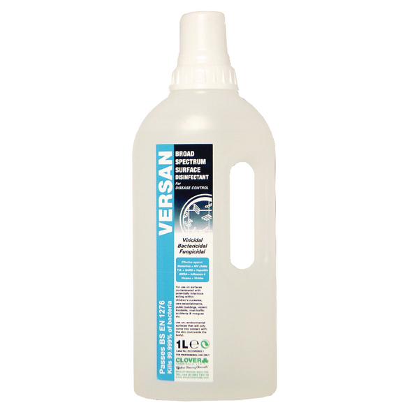 Versan Disinfectant 1 Litre (Pack of 8) 260