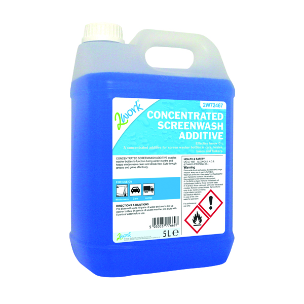 Image for 2Work Screen Wash Additive 5 Litre 717