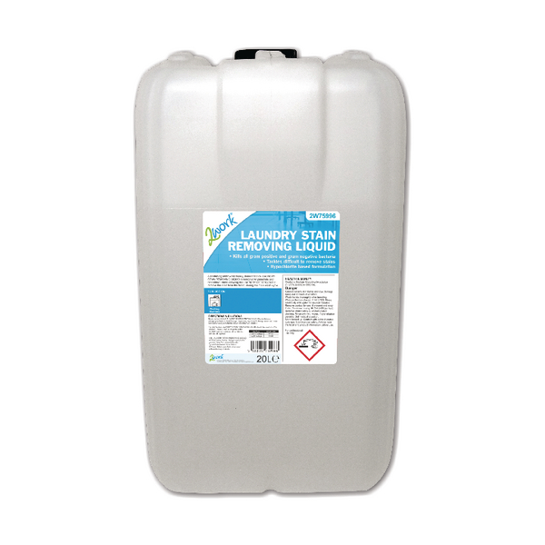 2Work Laundry Stain Removing Liquid 20 Litre 210